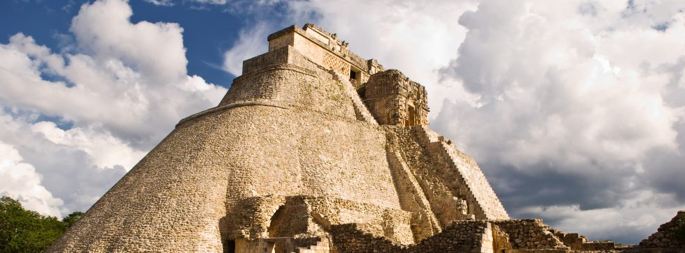 Temple of the Magician, Uxmal, Mexico